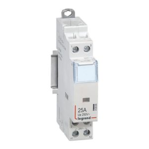 Contacteurs modulaires -Contacteur 25A-2P-24V-AUTO-2NO