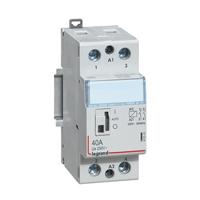 Contacteurs modulaires -Contacteur 40A-2P-230V-MAN-2NO