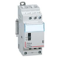 Contacteurs modulaires -Contacteur 25A-4P-230V-MAN-4NO