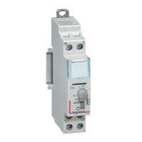 Interrupteurs horaire & interrupteurs crépusculaire -Interrupteur horaire hebdo 1 module vert - 50Hz - manuelle
