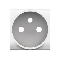 Prises -LL-ENJOLIVEUR 2P+T blanc - enclipsable