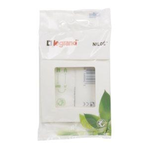 Plaques de recouvrement -Niloé DIY plaque simple blanc