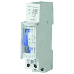 Interrupteurs horaire & interrupteurs crépusculaire -horloge analogique - 1 maak - dag - quartz - DIN-rail montage