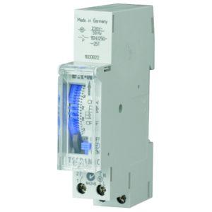 Interrupteurs horaire & interrupteurs crépusculaire -horloge analogique - 1 maak - dag - synchroon - DIN-rail montage