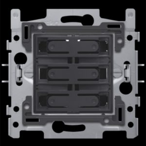 Interrupteurs et bouton-Socle pour quadruple bouton-poussoir libre de potentiel 24V N.O.