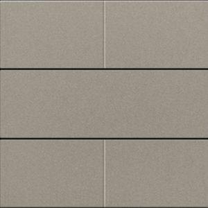 Plaques centrales -Set de finition pour bouton-poussoir quadruple, libre de potentiel, 24 V, bronze