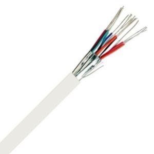 Téléphonie et signalisation -TPVF téléphonie PVC blindage par paire intérieur 150V Cca s3d2a3 blanc 4X2X0,6