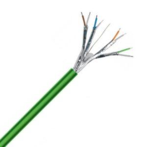 Téléphonie et signalisation -TPGF téléphonie LS0H blindé par paire intérieur 150V Cca s1d2a1 vert 2X2X0,6mm