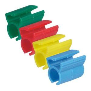 Plaques de recouvrement -Kit pour repérage cordons 200 bagues couleurs