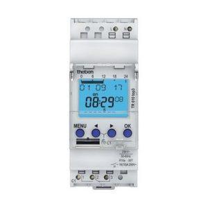 Interrupteurs horaire & interrupteurs crépusculaire -Horloge digitale 24H/7J 230V 50-60HZ 1CO 16A