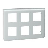 Plaques de recouvrement -Mosaic plaque 2x3x2 mod. alu