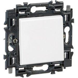 Interrupteurs et bouton-Valena Next deux directions 10AX appareil complet blanc à griffes