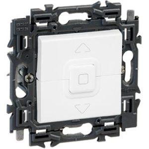 Interrupteurs et bouton-Valena Next inter volets roulants appareil complet blanc à griffes
