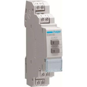 Interrupteurs horaire & interrupteurs crépusculaire -Interrupteur horaire 1 voie multi-fonct. Bluetooth