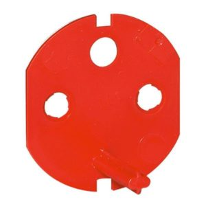 Interrupteurs et bouton-Détrompeur pr prise 2 P + T pour Mosaic/Serena/Plexo