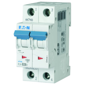 Disjoncteurs -Disjoncteur PLS4-C20/2-MW , C 20A , 2 poles , 4,5 kA