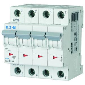 Disjoncteurs -Disjoncteur PLS4-C16/4-MW , C 16A , 4 poles , 4,5 kA