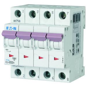 Disjoncteurs -Disjoncteur PLS4-C32/4-MW , C 32A , 4 poles , 4,5 kA