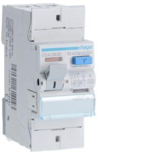 Protection différentielle -Interrupteur différentiel 2P 63A 30mA type A