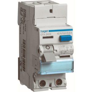 Protection différentielle -Interrupteur différentiel 2P 40A 300mA type A
