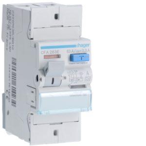 Protection différentielle -Interrupteur différentiel 2P 63A 300mA type A