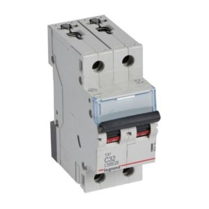 Disjoncteurs -Disjoncteur TX³ 3kA 2P C32 230/400V - 2 modules