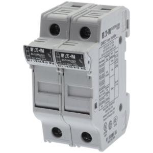 Fusibles & accessoires -Porte-fusible, Basse tension, 30 A, AC 600 V, 10 x 38 mm, CC, 2P, UL, montage su