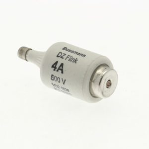 Fusibles & accessoires -Cartouche fusible, Basse tension, 4 A, AC 500 V, D2, gR, IEC, à action rapide