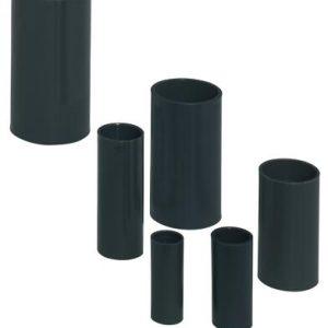 Tubes -Manchon, résistant aux chocs, Ø 16 mm - sans halogène - anthracite RAL 7016