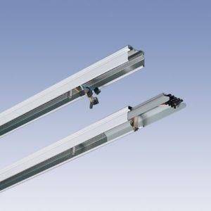 Éclairage interieur -Rail porteur élément intermédeiaire/final 4,59m