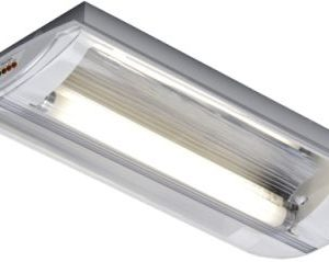 Éclairage de sécurité -Horizon plaf./applique apparent TL déc. batt. ind. 1x8W 4000K 120lm IP40 blanc