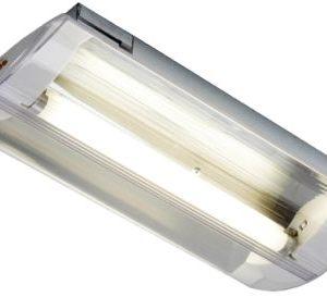 Éclairage de sécurité -Horizon plafonnier encastré TL décentrale batt. ind. 1x8W 4000K 120lm IP20 blanc