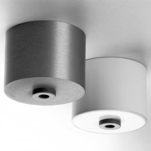 Accessoires -câble base Round alu anodise h:41mm ø57