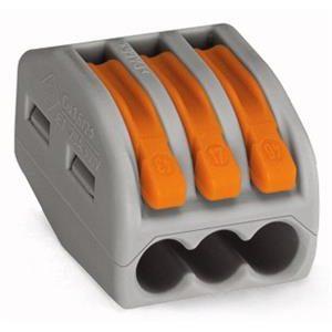 Bornes -Borne pour boîte de dérivation borne à 3 conducteurs avec levier de manipulatio