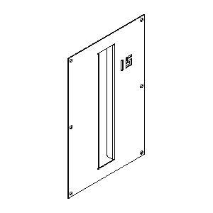 Accessoires -Plasterkit 145 140x235 trou 24x170