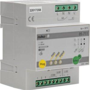 Gestion d'éclairage -Variateur pour systèmes avec commande de courant de 1-10V
