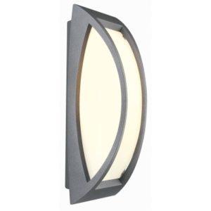 Éclairage interieur -Meridian 2. mur/plafond E27 25W 230V IP54 gris pierre