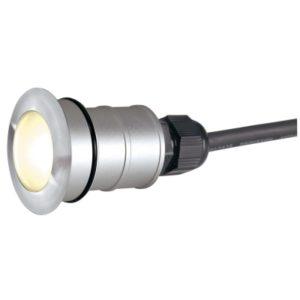 Éclairage extérieur -Power Trail-Lite écl. encastré mur/plafond PowerLED 1W 350mA inox LED blancchaud