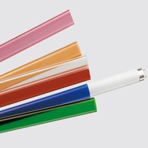 Accessoires -Tube coloré pour lampes fluorescentes T5 35W jaune