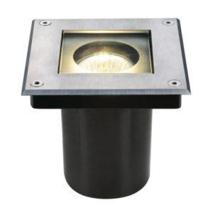 Éclairage extérieur -Dasar Square GU10 spot encastré sol 35W 230V IP67 couverture inox