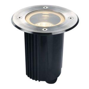 Éclairage extérieur -Spot encastré dans le sol outdoor DASAR 80 QPAR51 IP67 rond acier inox 316 35W