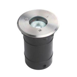 Éclairage extérieur -Spot terre encastré GU10 230V inox IP65