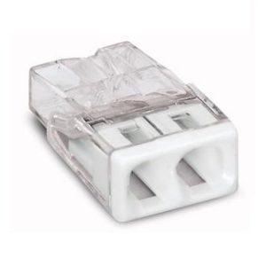 Cosses à sertir -Raccord 2x0,5-2,5mm transparant blanc