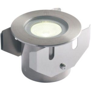 Éclairage extérieur -GL016 encastré de sol LED 26° 1W 3000K 75lm IP68 inox