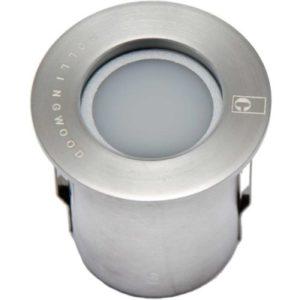 Éclairage extérieur -GL018 C encastré de sol LED 120° 0,5W 3000K 3lm IP68 inox