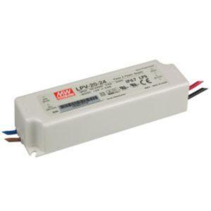 Accessoires -Alimentation LED 24VDC 20W IP67 - 30 cm câble in/out inclus