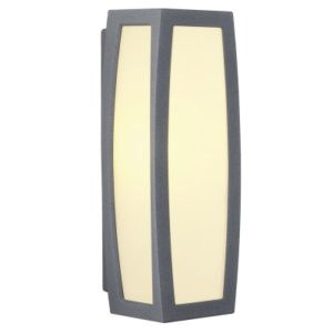 Éclairage interieur -Meridian box E27 plafonnier E27 gris anthracite