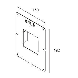 Accessoires -PLASTERKIT 186