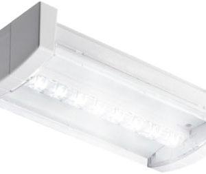 Éclairage de sécurité -Previx applique app. LED décentrale batterie individuel 1x2W 107lm IP40 blanc