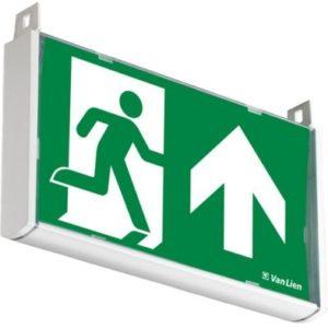 Éclairage de sécurité -Previx plafonnier apparent frame pictogramme double face 255x139x30